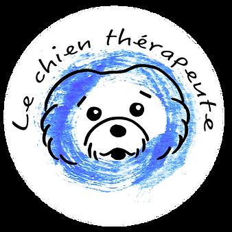 logo le chien therapeute