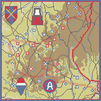 The Battle of the Bulge CANVAS ONLY