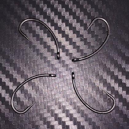 Poltergeist Black Curve Hooks x10