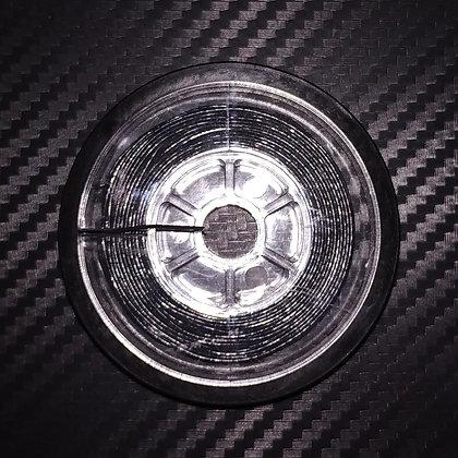 Poltergeist Coated Braid Black 15m