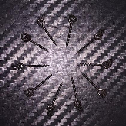 Poltergeist 12mm Bait Screws - Oval Ring x10