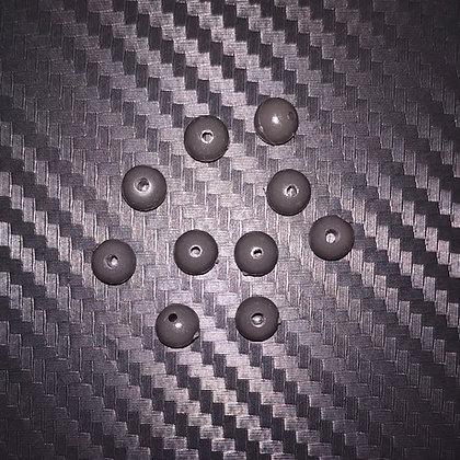 Poltergeist Tapered 6mm Tungsten Beads x10
