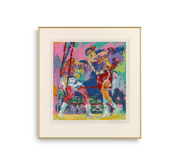 """""""Frazier-Foreman, Jamaica"""" by LeRoy Neiman"""