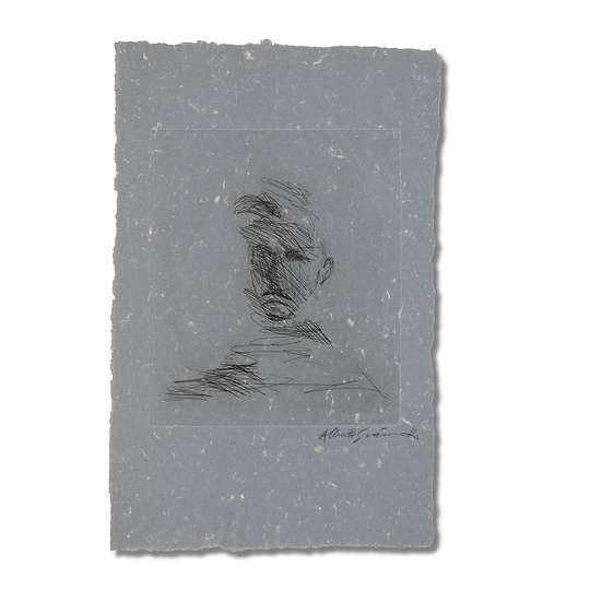 """Giacometti from Arthur Rimbaud vu Par Des Peintres Contemporains"" by Rimbaud"