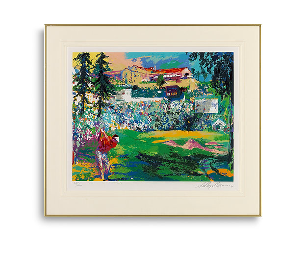 """""""Amphitheater at Riviera - Big Time Golf Suite"""" by LeRoy Neiman"""