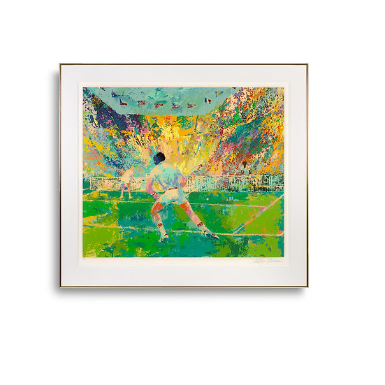 """Stadium Tennis"" by LeRoy Neiman"