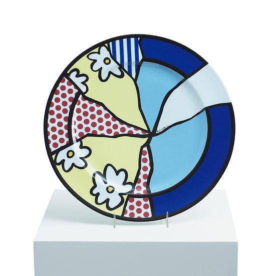 """""""Water Lillies: Service Dish"""" by Roy Lichtenstein"""