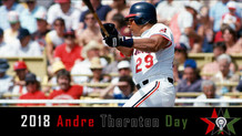 Andre Thornton Day 2018