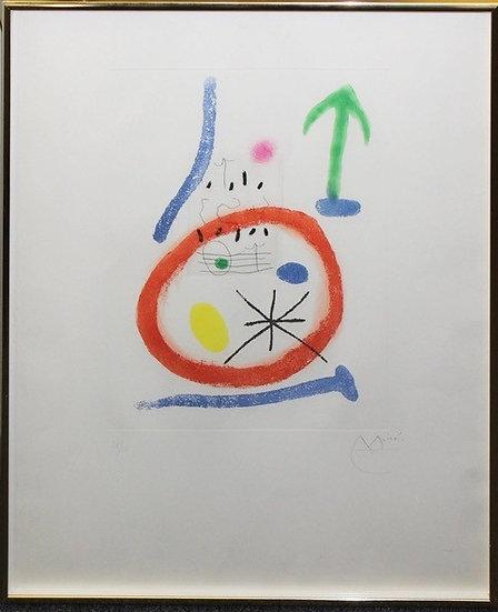 """""""Chemin de Ronde II"""" by Miro Joan"""
