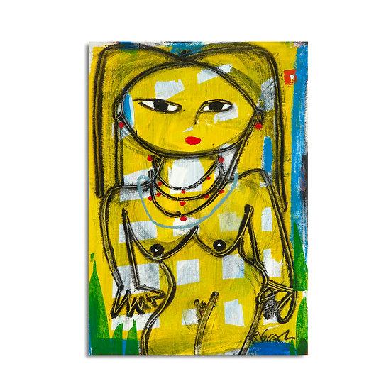 """Yellow Nude"" Rascal"