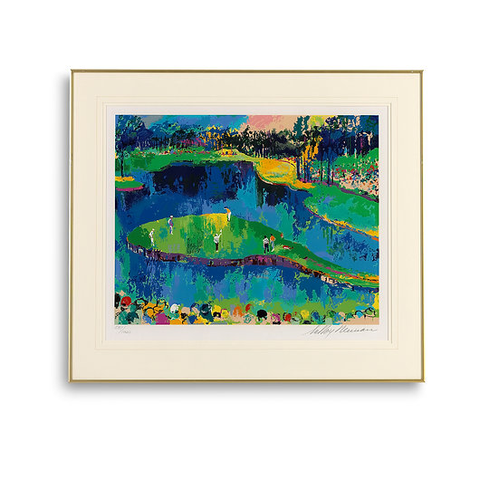 """""""Island Hole at Sawgrass - Big Time Golf Suite"""" by LeRoy Neiman"""