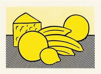 """Yellow Still Life"" by Roy Lichtenstein"
