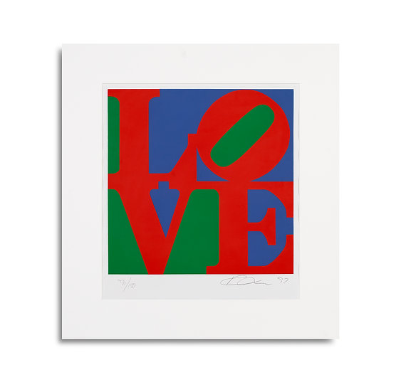 """""""Classic LOVE"""" by Robert Indiana"""
