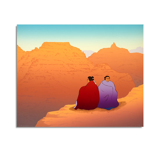 """Grand Canyon"" by R.C. Gorman"