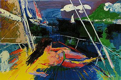 """""""Jour du Soleil"""" by LeRoy Neiman"""