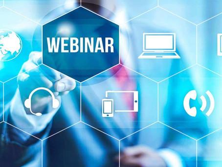 Industry Webinars Week of May 11th