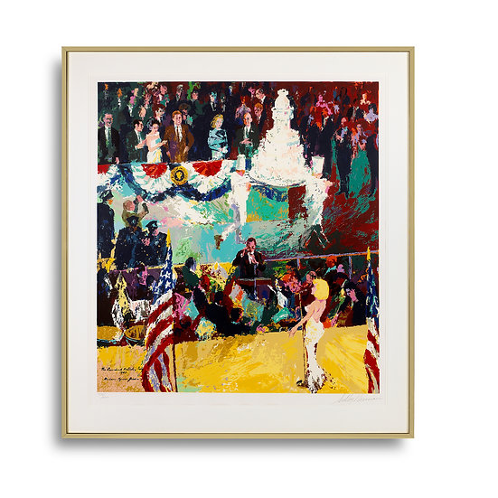 """""""The President's Birthday Party"""" by LeRoy Neiman"""