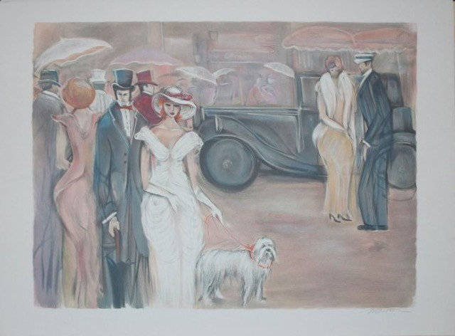 """Champs Elysees"" by Isaac Maimon"