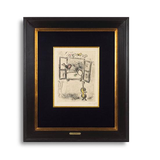"""""""Celui qui dit les choses Sans Rien Dire"""" by Marc Chagall"""