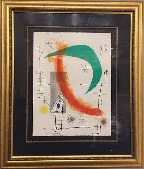 """""""Escalade (1969)"""" by Joan Miro"""