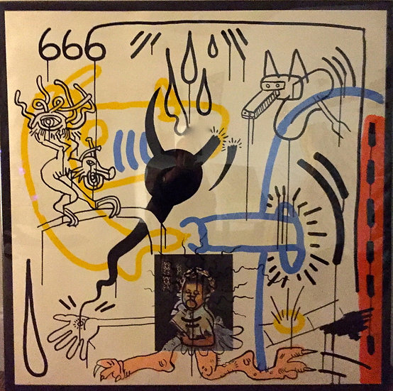 """Apocalypse 8"" by Keith Haring"