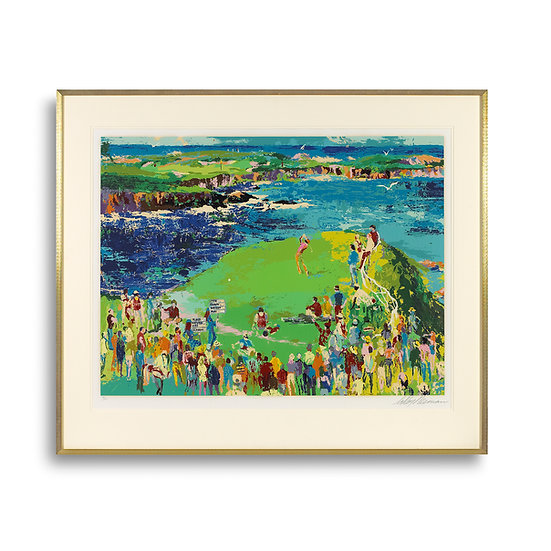 """16th at Cypress"" by LeRoy Neiman"