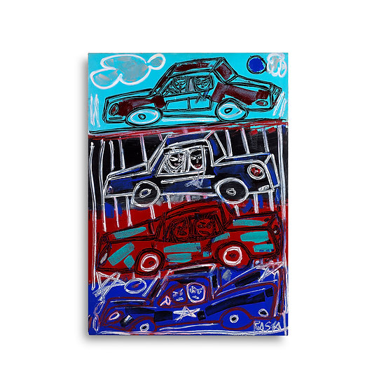 """4 Cars"" by Rascal"