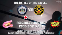 Main Event: Battle of the Badges!
