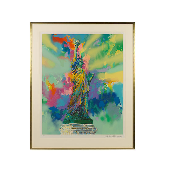 """Lady Liberty"" by LeRoy Neiman"