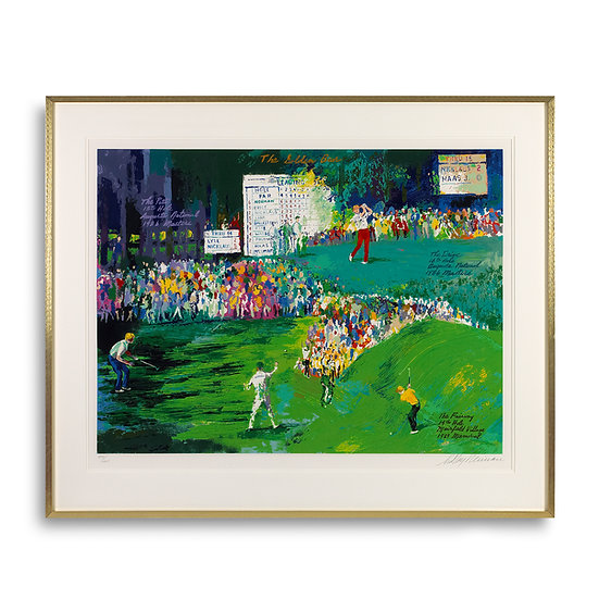 """The Golden Bear"" by LeRoy Neiman"