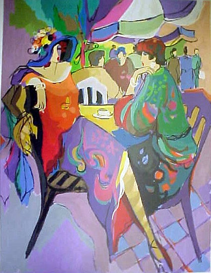 """Corner Cafe"" by Isaac Maimon"