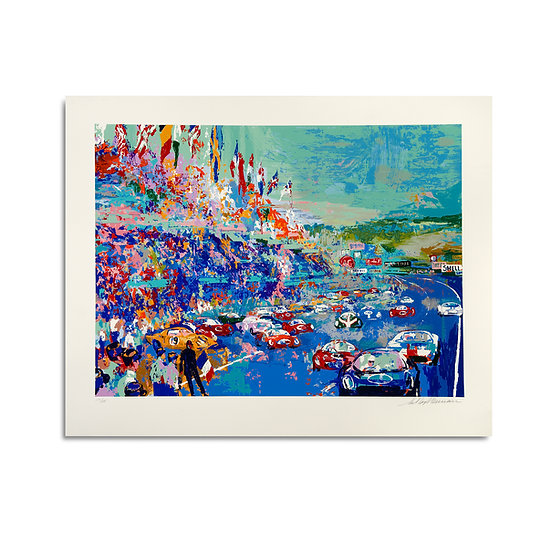 """LeMans Grand Prix d'Endurance"" by LeRoy Neiman"