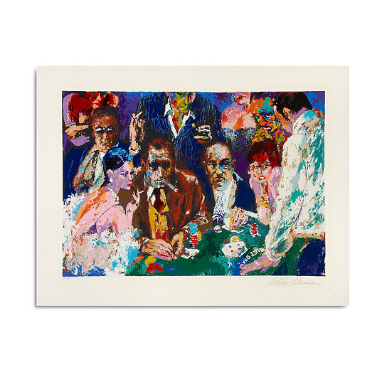 """Vegas Blackjack"" by LeRoy Neiman"