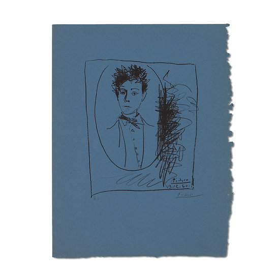 """Picasso from Arthur Rimbaud vu Par Des Peintres Contemporains"" from Rimbaud"