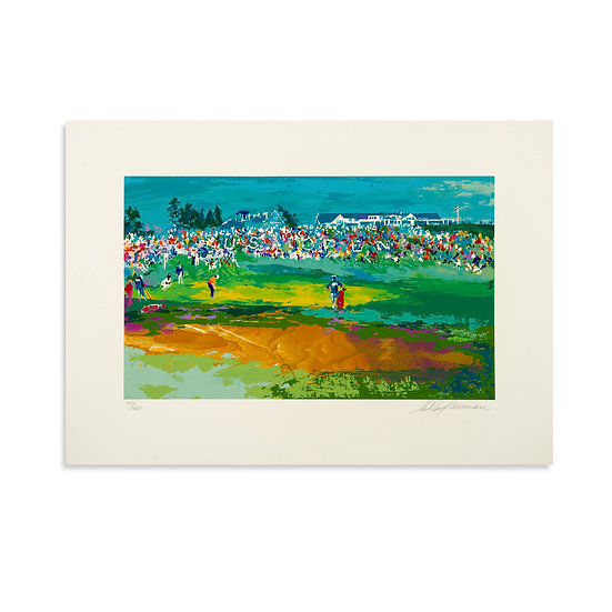 """Home Hole at Shinnecock"" by LeRoy Neiman"