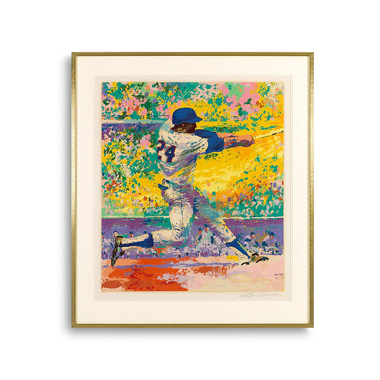 """Willie Mays"" by LeRoy Neiman"