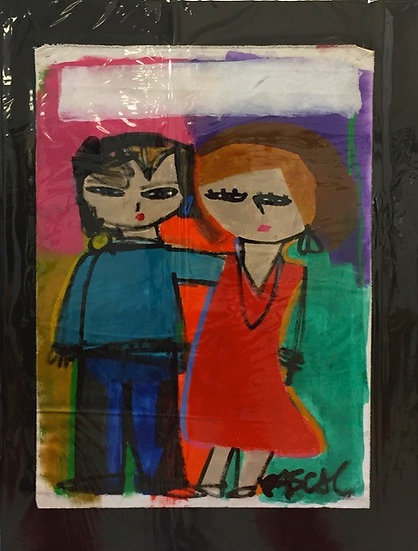 """""""Family of 2 - Man and Woman"""" by Rascal"""