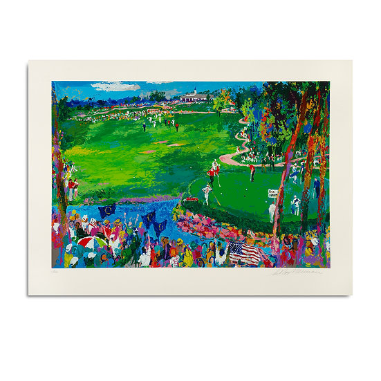 """""""Ryder Cup-Valhalla"""" by LeRoy Neiman"""