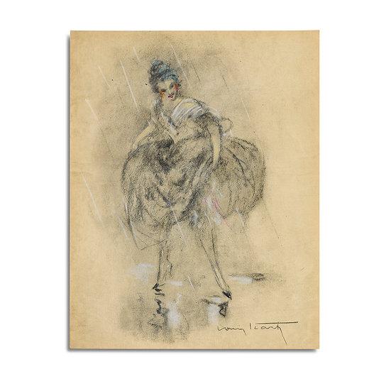 """""""Dessins des Femmes"""" by Louis Icart"""