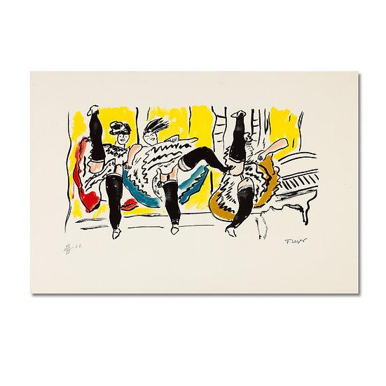 """La Ville (""The City"")"" by Fernand Leger"
