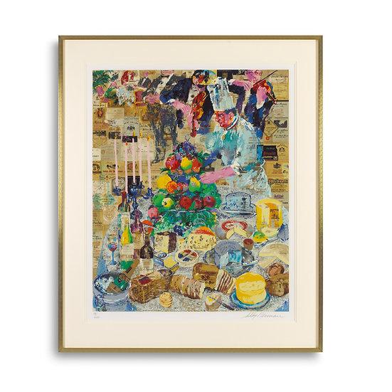 """""""La Cuisine Francaise"""" by LeRoy Neiman"""