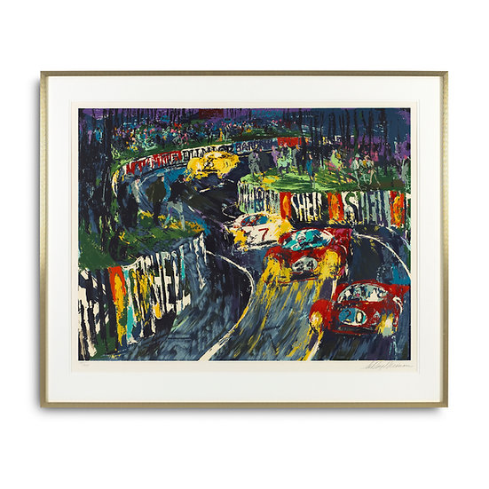 """24 Hours of LeMans"" by LeRoy Neiman"