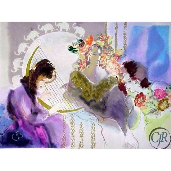 """The Harp"" by Batia Magal"