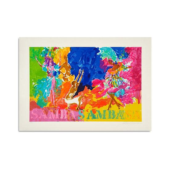 """""""Samba Samba"""" by LeRoy Neiman"""