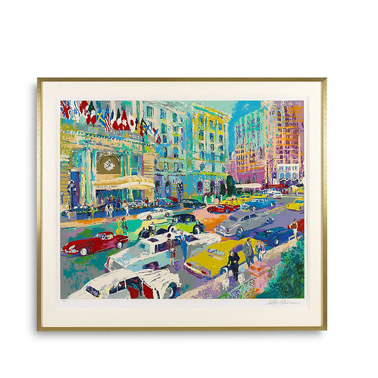 """Nob Hill"" by LeRoy Neiman"