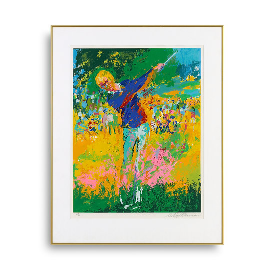 """Tee Shot"" by LeRoy Neiman"