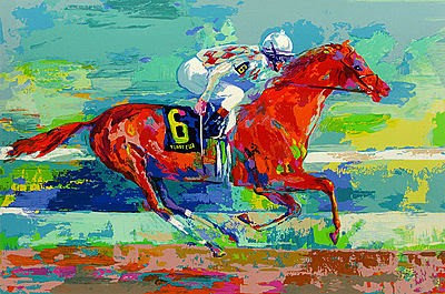 """""""Funny Cide"""" by LeRoy Neiman"""