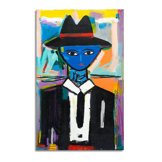 """Blue Head Man"" by Rascal"