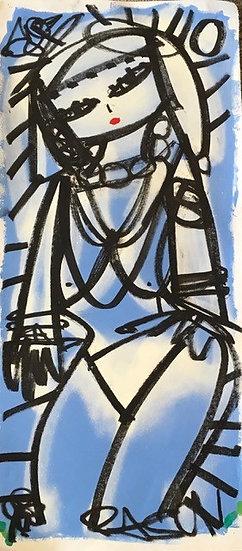 """""""Blue Woman"""" by Rascal"""