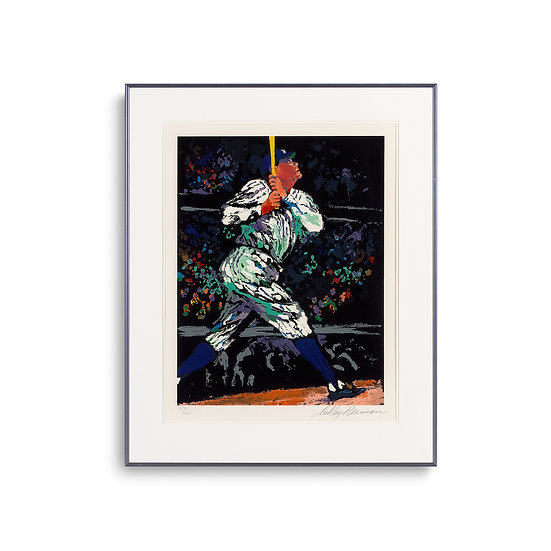 """The Babe"" by LeRoy Neiman"
